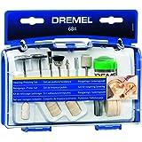 Dremel 684 Kit Pollisage - Coffret avec 20 Accessoires de Nettoyage et Polissage et Pâte à Polir pour Outils Rotatifs Multifo