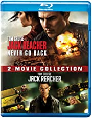 Tom Cruise 2 Movies Collection - Jack Reacher: Never Go Back + Jack Reacher (2-Disc)