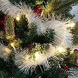com-four® 3X Girlande Weihnachten - Tannengirlande für eine perfekte Weihnachtsdekoration - Weihnachtsdeko für…