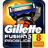 Gillette Fusion5 ProGlide 8 Lame di Ricambio per Rasoio per Rifinire le Aree Difficili, Dotato di Striscia Lubrificante Lubra