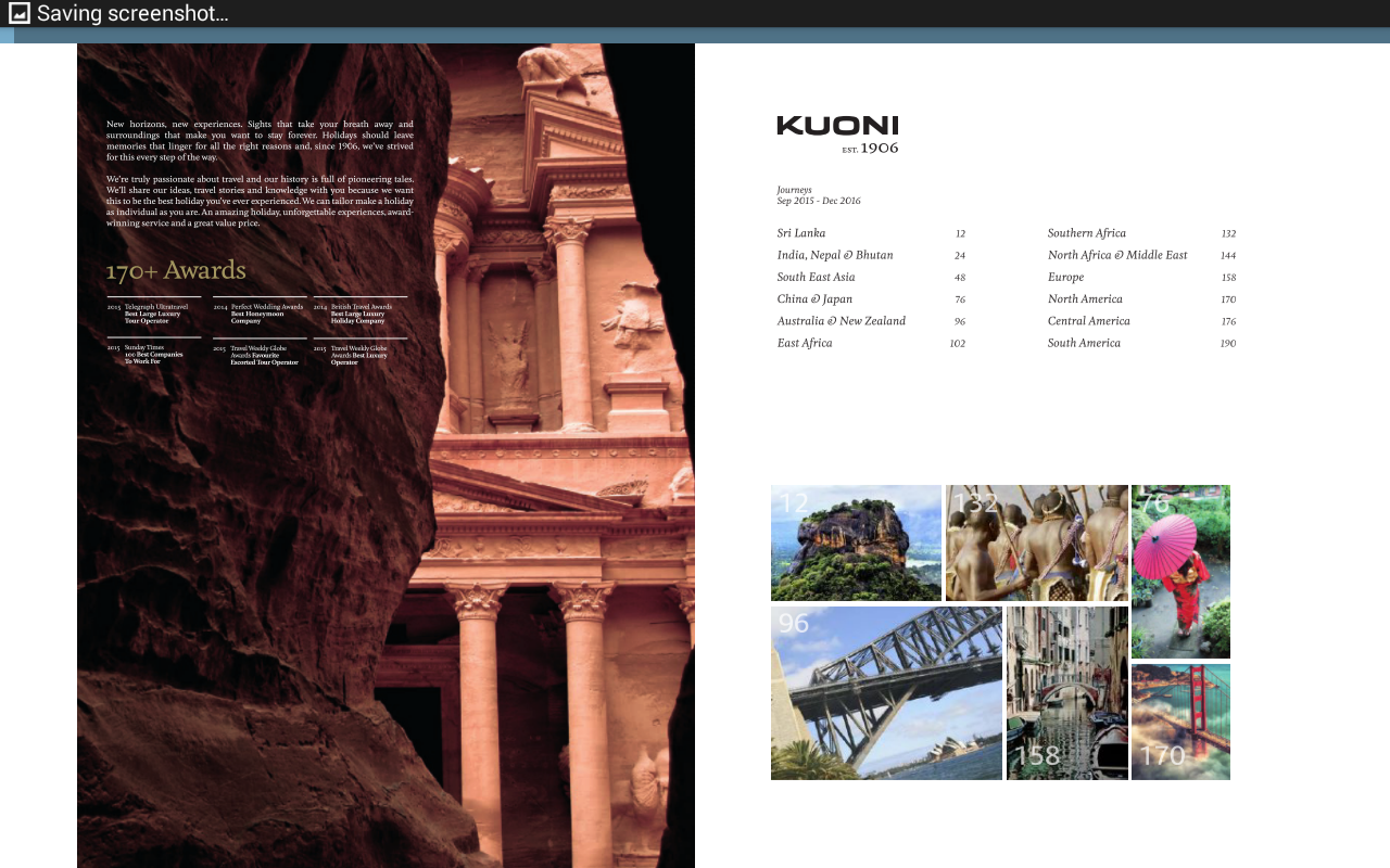 Kuoni Travel Brochures Amazon Appstore For Android