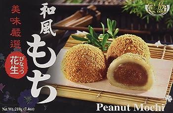 """Royal Family Reiskuchen """"Mochi"""" nach japanischer Art, mit Erdnuss Geschmack 210g"""