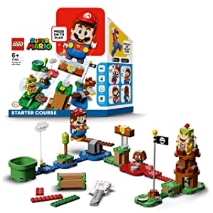 LEGO71360 Pack de démarrage AventuresSuper Mario- Jouet interactif - Jeu de construction incluant la figurine