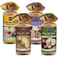 HAIM Organic Crispy Rice Thick Wholegrain Brown Rice Cakes with (Original Unsalted), (Multigrain),(Buckwheat & Amaranth…