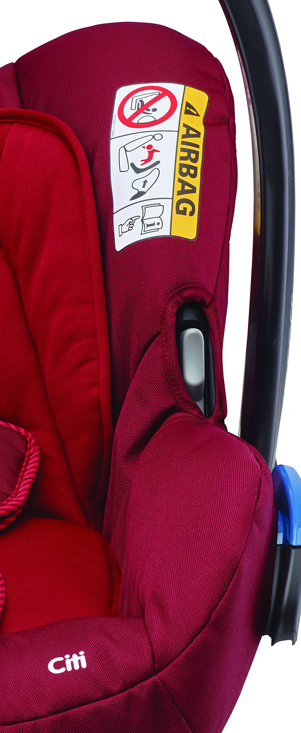 Maxi-Cosi Kinderautositz Citi Robin Red Maxi-Cosi Side protection system, guarantees optimal protection in the event of a side impact Lightweight, light weight and ergonomically shaped safety bar for use as carrying handle Practical travel system 9