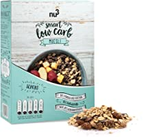 nu3 Kalorienreduziertes Muesli | Schokolade 575 g | Lecker-knuspriges High-Protein Schoko-Müsli | mit reduziertem Kohlenhydrat und Zucker-Anteil | Hoher Eiweiß-Gehalt