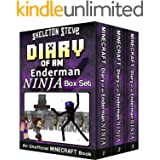 Diary of a Minecraft Enderman Ninja BOX SET - Collection 1: Unofficial Minecraft Books for Kids, Teens, & Nerds - Adventure F