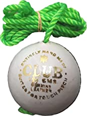 SanR Club White Leather Cricket Hanging, Knocking & Practice Ball