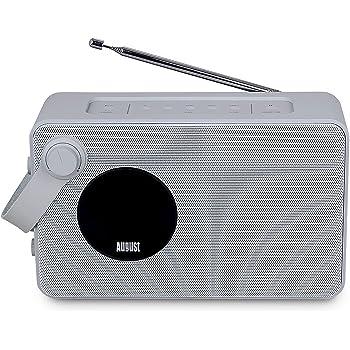august mb415 dab radio mit nfc bluetooth speaker amazon. Black Bedroom Furniture Sets. Home Design Ideas