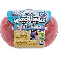 Hatchimals à Collectionner - 6045522 - Pack de 6 Figurines Sea Shell Saison 5 - Modèles Aléatoires