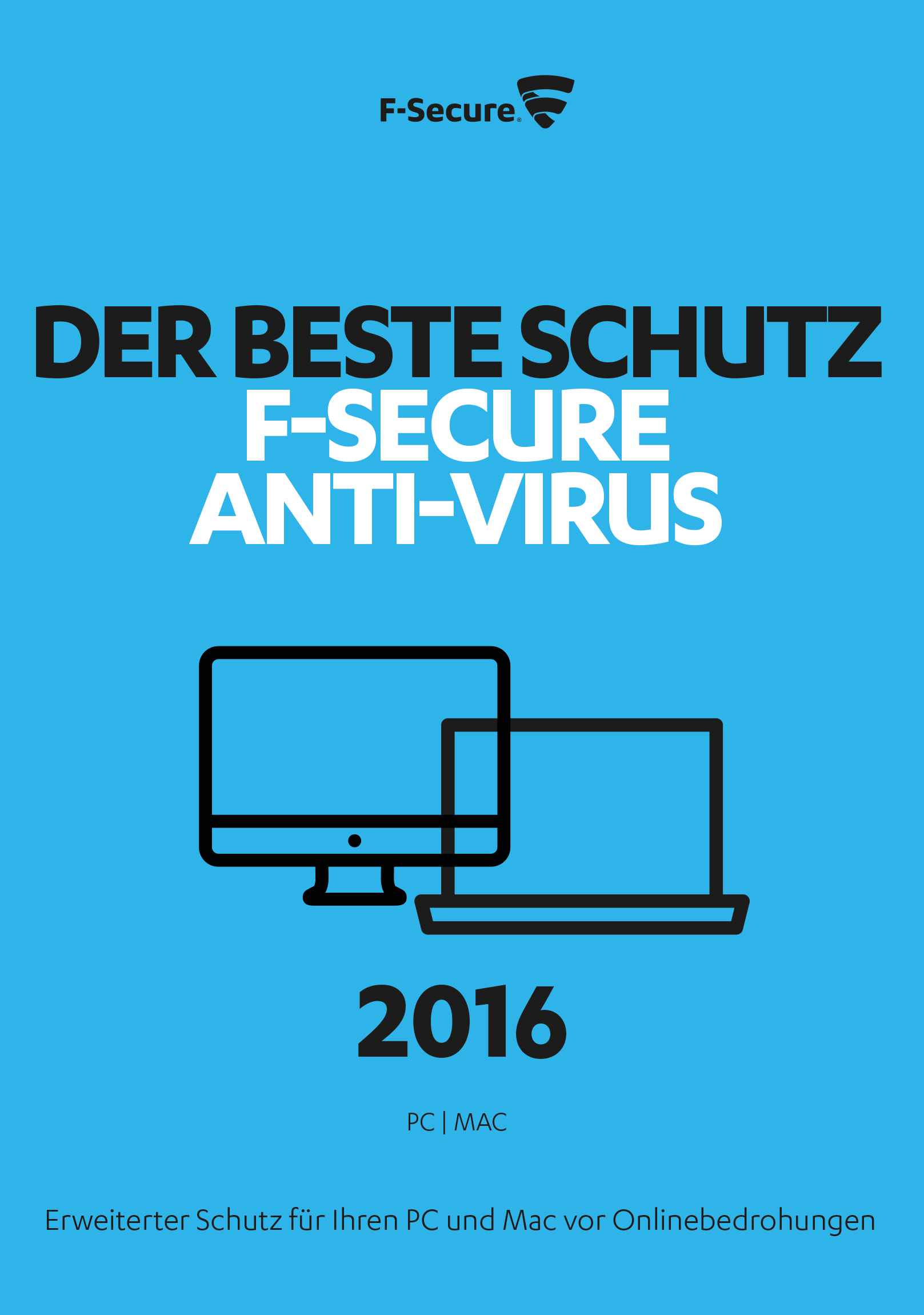 F-Secure Anti-Virus 2016 PC - 1 ...