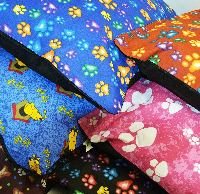 AmigoZone-Large-Pet-Dog-Bed-Zipped-Removable-Washable-Cushion-Cover-Only