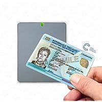 Identiv uTrust 3700F - Lettore per la Carta d'identità Elettronica CIE 3.0 e per Carte NFC e RFID mifare, desfire e…