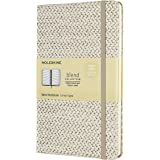 Moleskine Notebook Blend Collection Pagina a Righe, Taccuino Copertina Rigida in Tessuto e Chiusura ad Elastico, Dimensione L