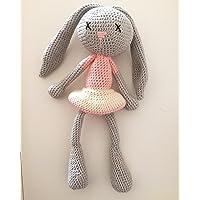 Peluche, Pupazzo, Bambola, La piccola coniglietta rosa, AMIGURUMI uncinetto... per bambini e neonati
