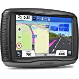 Garmin ZUMO 590LM 5 inch Motorbike Satellite Navigation with UK and Full Europe Maps, Free Lifetime Map Updates and…