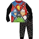 Marvel–Conjunto de pijama para niño, diseño de Los Vengadores: Iron Man, Capitán Amércia, Thor y Hulk