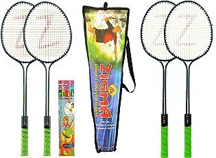 Klapp Zigma1 Steel Badminton Set (White)