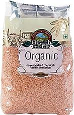 Health Fields Organic Masoor Daal/Red Lentil - Dhuli - 1 KG