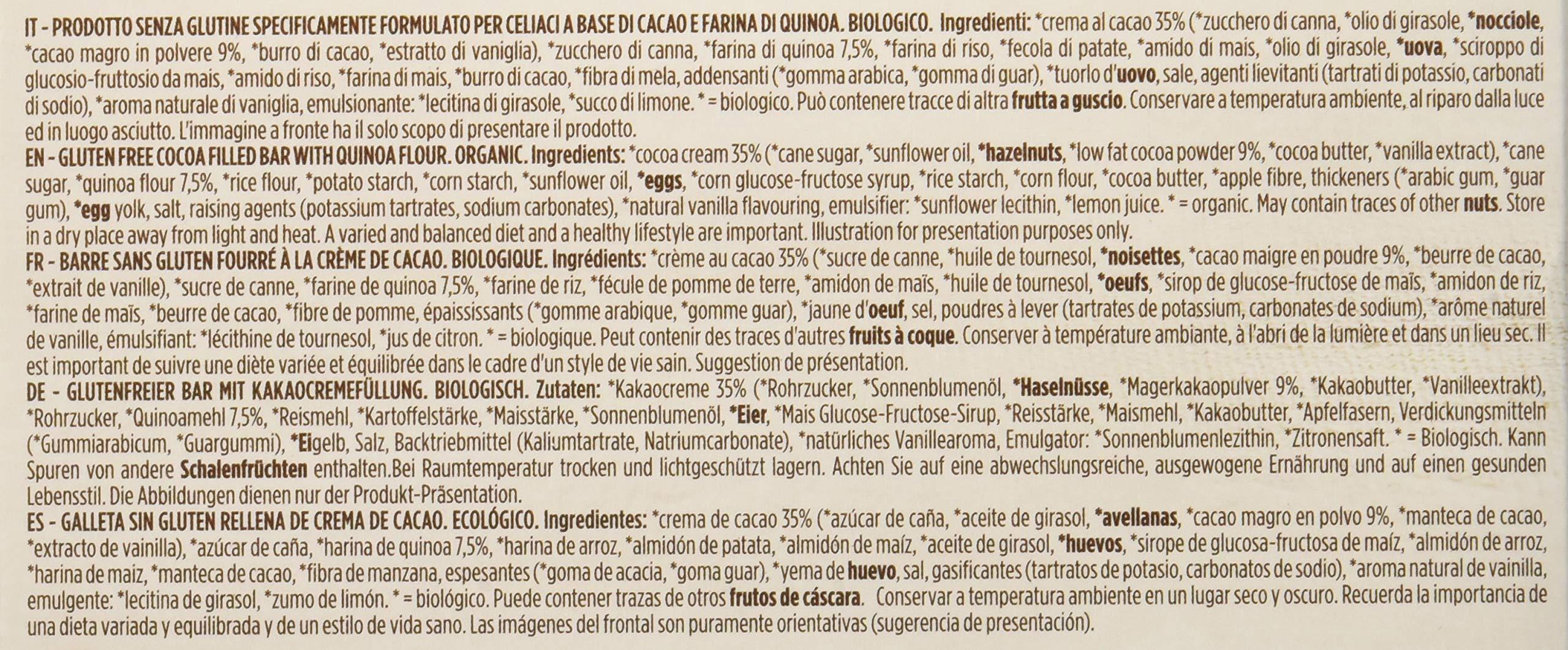 Germinal Bio Barretta Cacao Quinoa - 1800 gr, Senza glutine 4 spesavip