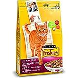Purina Friskies Pienso para Gato Adulto Buey, Pollo y ...