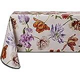 Vinylla - Mantel de PVC, fácil de limpiar, diseño floral