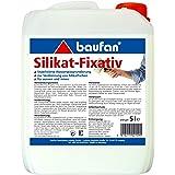 baufan Silikat-Fixativ 5l Grundierung und Verdünnung für Silikatfarben
