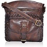 Umhängetasche aus echtem Leder für Frauen, modische und stilvolle Taschen für Mädchen.