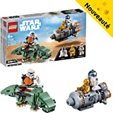 LEGO Star Wars - Capsule de sauvetage contre Microfighter Dewback - 75228 - Jeu de construction