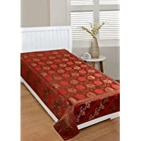 ROUGE 400 TC PlyCotton for Only Single Bedsheet- ( Bedsheet Size- 60 inch x 90 inch or 152 cm x 228 cm, )