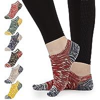 CityComfort Socks Womens 4-7, Pack Of 7 Ankle Socks Women Easy Care Cotton Trainer Socks Ladies, Low Cut Socks For Girls…