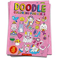 Doodle Coloring For Girls (Doodle Coloring Books)
