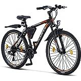 Licorne Bike Effect Premium mountainbike aluminium schijfrem/V-rem fiets voor jongens, meisjes, heren en dames - 21 versnelli