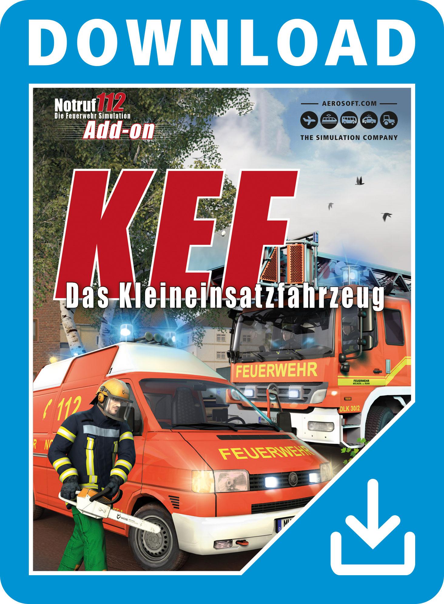 Notruf 112 Add-On KEF - Das Kleineinsatzfahrzeug [PC Code - Steam]