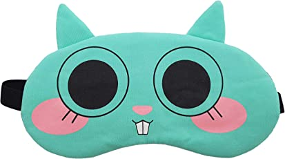 Jenna Face Bigeye Sleeping Eye Mask for Insomnia, Meditation, Puffy Eyes and Dark Circles
