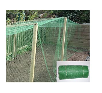 10M x 4M Garden Netting Strong Fine Mesh 10mm Polypropolene