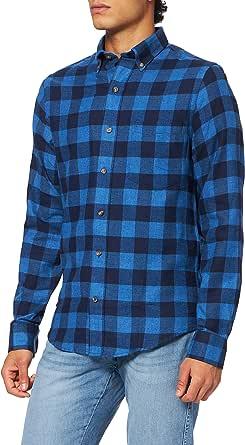 Izod Men's Flannel Plaid Bd Shirt Casual