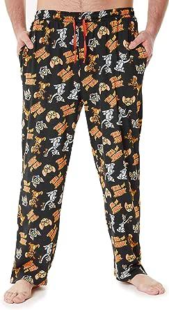 Tom and Jerry Mens Lounge Pants, Cotton Pyjama Bottoms M, L, XL, 2XL