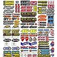 MAS DI VITALE MARIA ditta individuale Pegatinas Moto Patrocinadores 113 Pcs Sticker Gráficos motocrós MTB Ordenador Vespa Kit