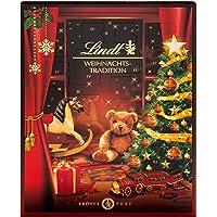 Lindt Weihnachts-Tradition Adventskalender 2021 | 253 g verschiedene Pralinen- und Schokoladen-Überraschungen | Ideales…