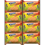 McVitie's Wholewheat Marie Biscuits with Goodness of Calcium, 200g (Pack of 8)