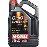 MOTUL Lubricante para Motor 107206/74, 8100X-Clean EFE C2/C3 5W30,5L