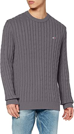 Tommy Jeans Men's TJM Essential Cable Sweater