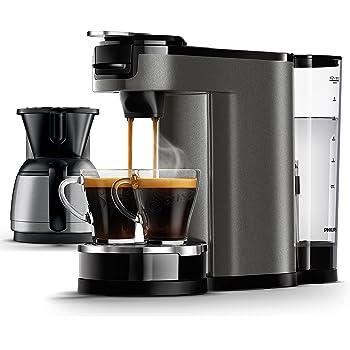 senseo hd7892 60 switch 2 in 1 kaffeemaschine f r filter schwarz mit. Black Bedroom Furniture Sets. Home Design Ideas