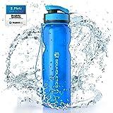 Boundletics Trinkflasche 1L - Wasserflasche BPA frei - Tritan Sportflasche