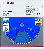 Bosch Professional 2608644342 Kreissägeblatt Expert for Wood (für Holz, 254 x 30 x 2,6 mm, Zähne 54, Zubehör Kreissäge)
