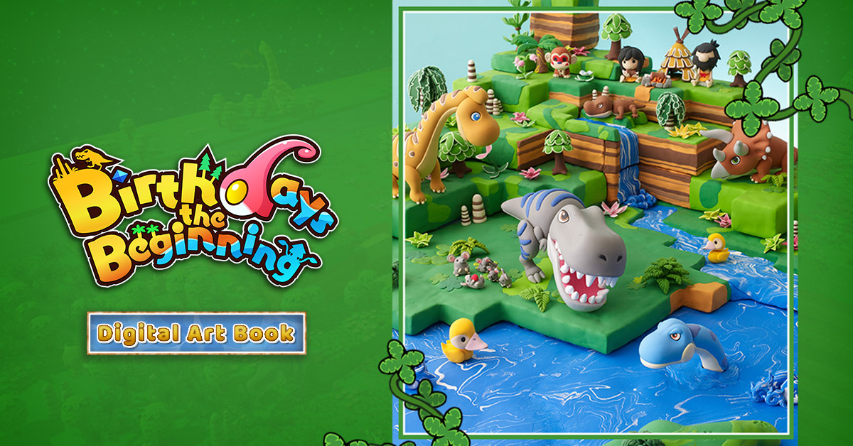 Birthdays the Beginning Digital Art Book