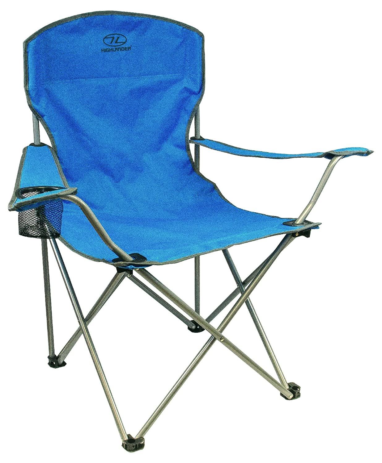 Highlander Folding Camp Chair _ Lightweight, Popular And Highly Rated Outdoor  Chair _ Perfect For Camping, Festivals, Garden, Caravan Trips, Fishing, ...