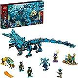 LEGO 71754 Ninjago Le Dragon de l'Eau – Jeu de Construction Ninja pour Enfants de 9 Ans et Plus