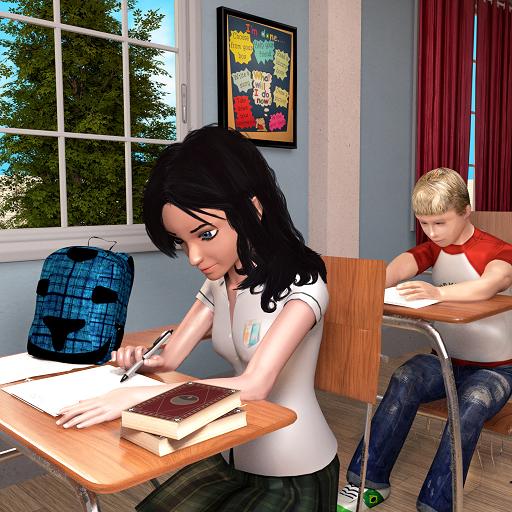 Virtuelle High-School-Mädchen-Simulator-Spiele 2018